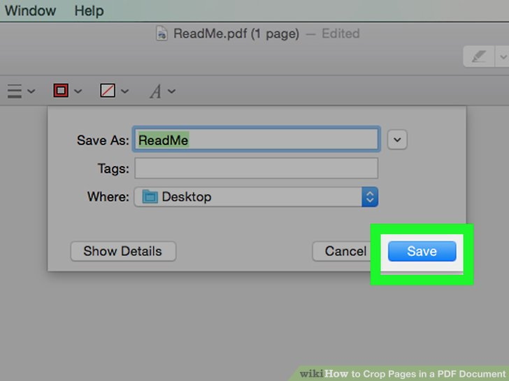 crop each pages of a pdf