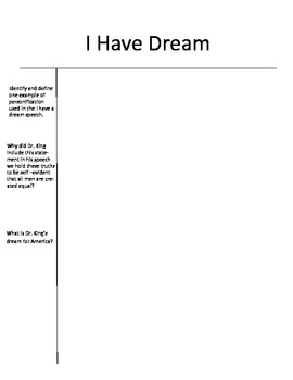 martin luther king i have a dream text pdf