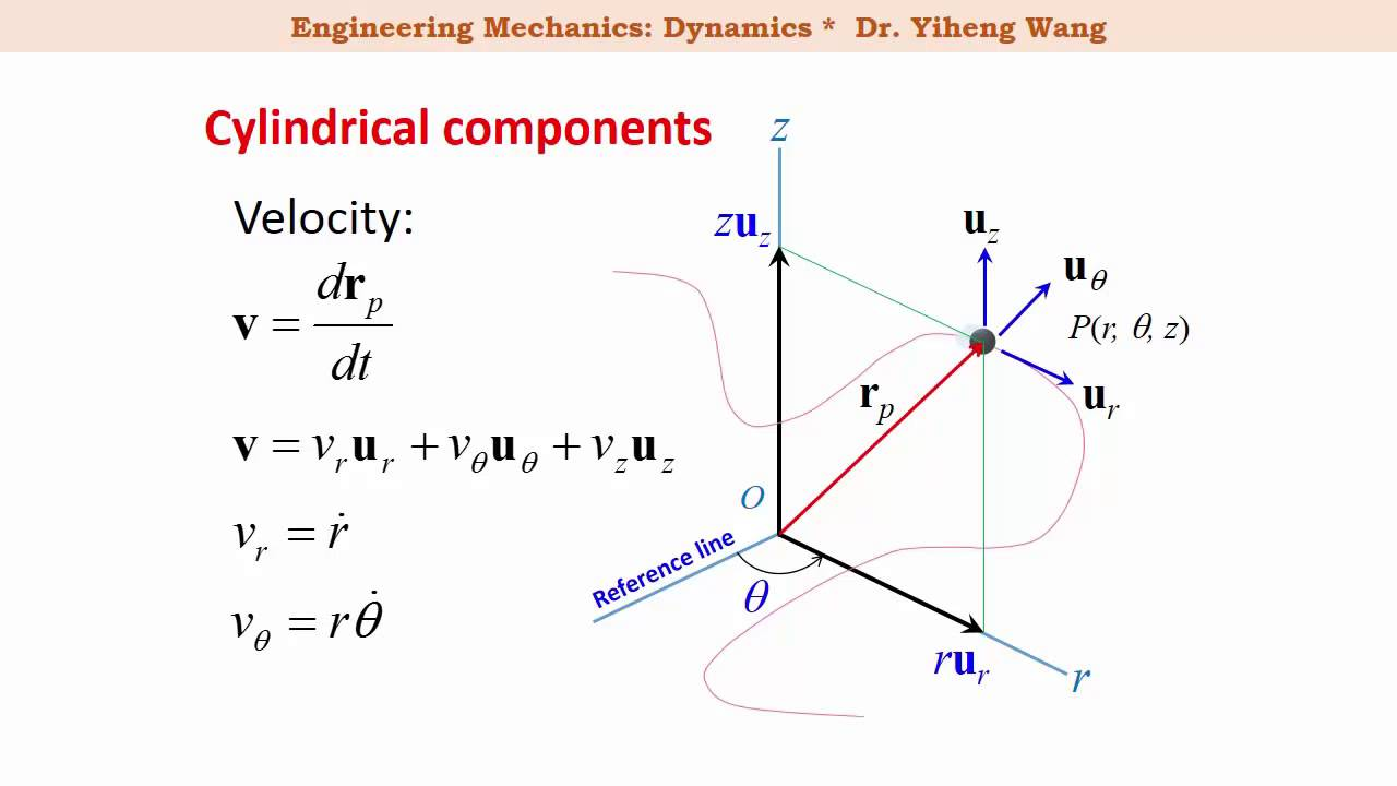 velocity and acceleration in spherical coordinates pdf