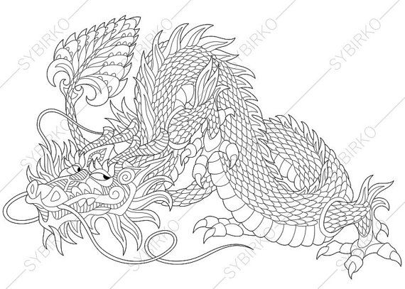 how to draw dragons pdf