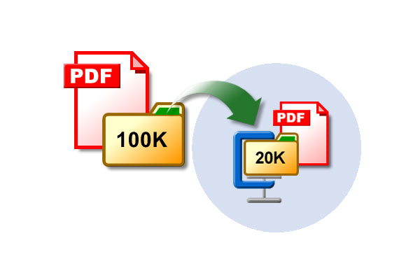 reduce pdf file size acrobat reader