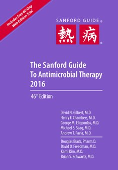 sanford guide to antimicrobial therapy 2016 pdf